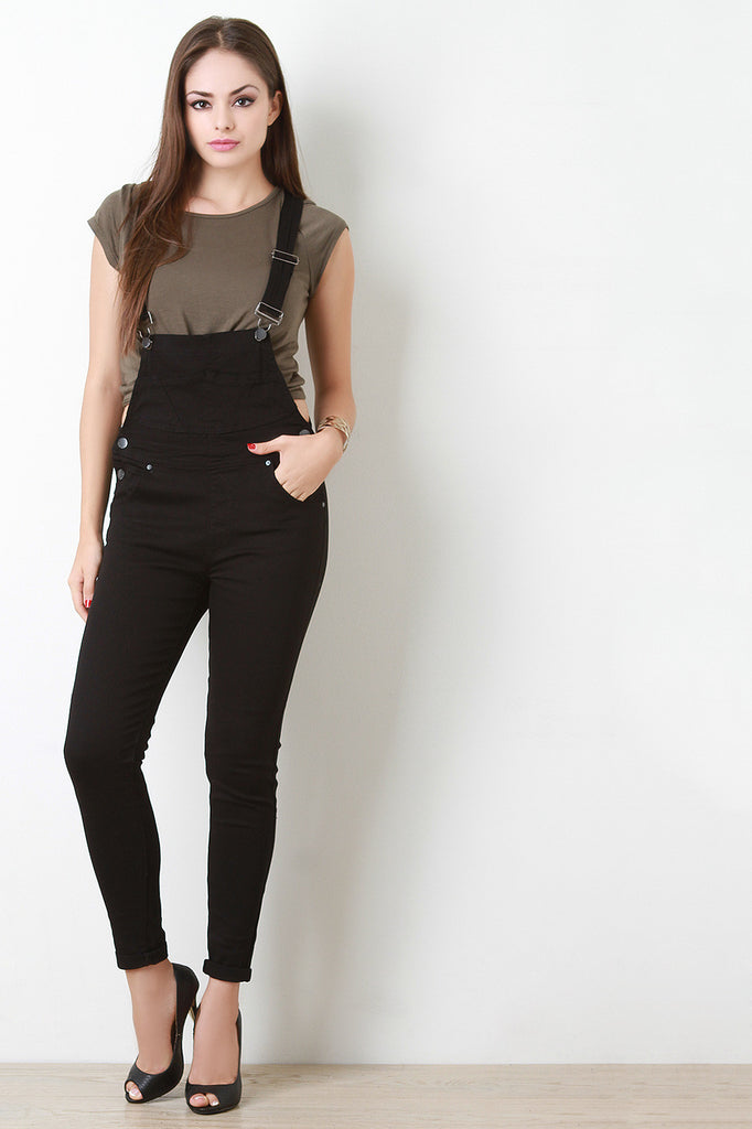 Taper Legs Overalls - Kaneli Nomad Boutique