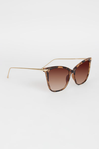 Starlet Subtle Cat Eye Sunglassed - Kaneli Nomad Boutique
