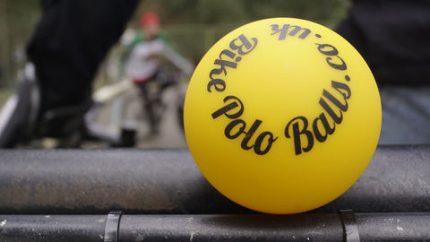 COLD Marigold Bike Polo Ball