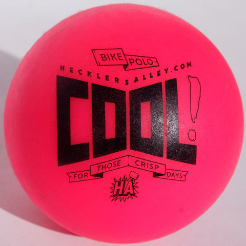 Bike Polo Pink Cool Weather Ball