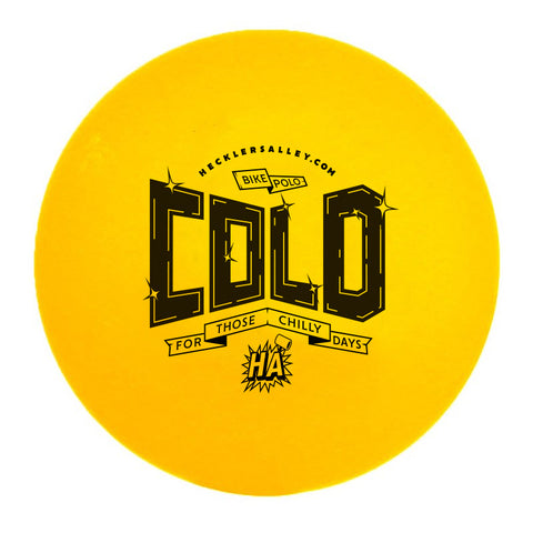 Bike Polo Yellow Cold Weather Ball