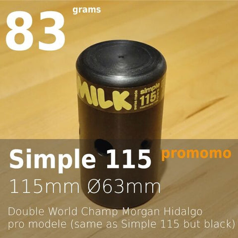 Simple 115 Pro Momo Soy Milk Bike Polo Head