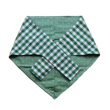 Mint Green Spring Bandana for Big Dogs