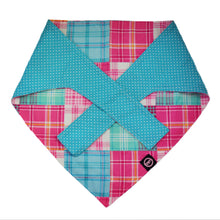 Mad for Madras Spring Preppy Dog Bandana