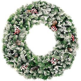 Snowy Wreath