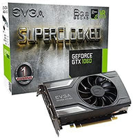 EVGA Geforce GTX 1060 SC Gaming GeForce GTX1060 Graphic Card 6144 MB - E-Gamer