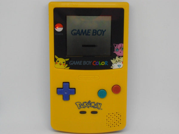 Nintendo Game boy Color Pokemon Pikachu Yellow Gameboy *REFURBISHED* - E-Gamer