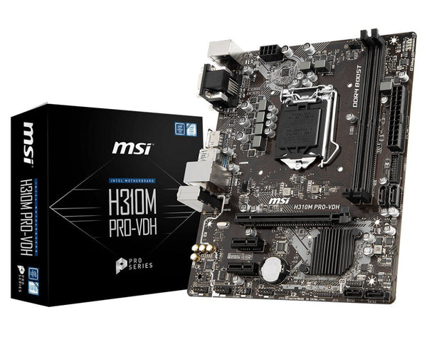 MSI H310M PRO-VDH PLUS  (Pre-Owned) - E-Gamer