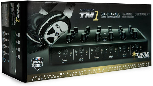 Turtle Beach TM1 Tournament Mixer 1 Professional Team Audio Mixer - E-Gamer
