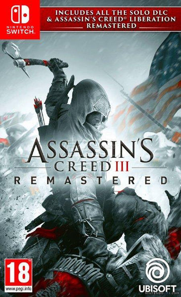 Assassin's Creed III (3) Remastered Nintendo Switch - E-Gamer