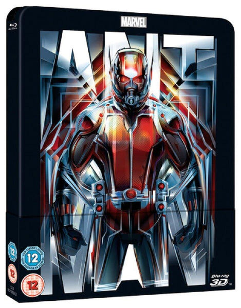 Ant-Man 3D (Includes 2D Version) - Limited Lenticular Edition Steelbook Blu-ray - E-Gamer