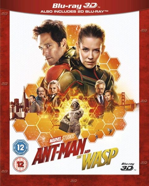 Ant-Man and The Wasp 3D/2D Edition Blu-Ray - E-Gamer