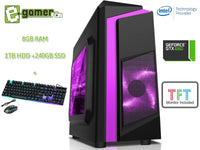 Work-From-Home Intel i5 8GB RAM Starter Office PC Desktop - E-Gamer