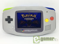 Nintendo Gameboy Advance AGS-101 Modification Brighter Backlit Screen by E-Gamer - E-Gamer