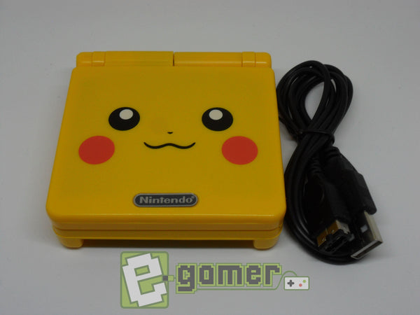 Gameboy Advance Pikachu SP Refurbished by E-Gamer (B-Grade) - E-Gamer