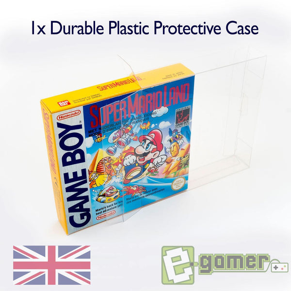 Gameboy Clear Plastic Box Protector for Gameboy Original Gameboy Advance Gameboy Color Games - E-Gamer