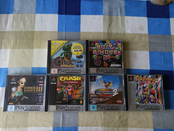 Playstation 1 Games Platinum Joblot Bundle - E-Gamer