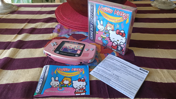 Hello Kitty Gameboy Advance Limited Collectors's Bundle iPS v2 Screen Upgrade