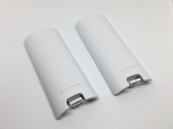 2x Replacement Battery Cover for Nintendo Wii Controller - E-Gamer