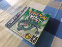 Genuine complete Pokemon Emerald GBA Gameboy Advance Working Boxed Nintendo Game - E-Gamer
