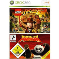 Lego Indiana Jones & Kung Fu Panda Double Disc Xbox 360 - E-Gamer