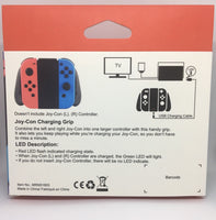 Nintendo Switch Joy-Con Charging Grip with USB C Cable - E-Gamer