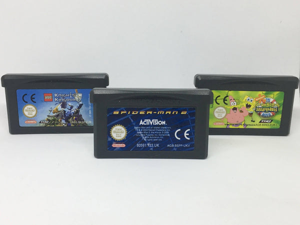 Gameboy Advance Triple Game Pack - E-Gamer