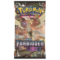 Pokémon Forbidden Light Booster Pack 10 Additional Playing Cards - E-Gamer