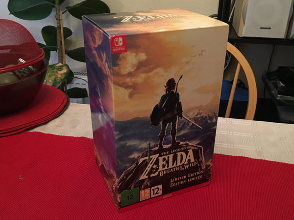 Zelda Breath Of The Wild Limited Edition Nintendo Switch - E-Gamer