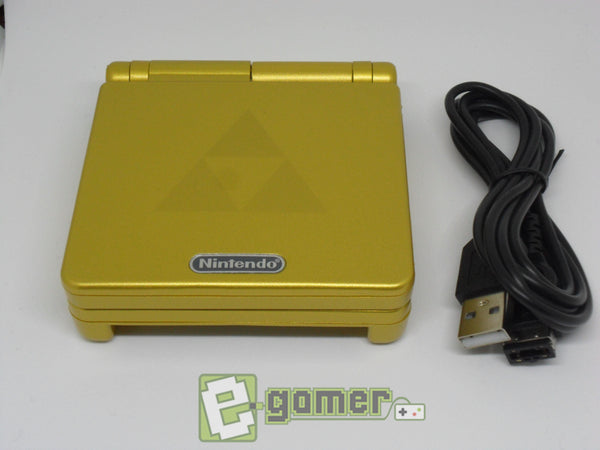 Gameboy Advance SP Zelda Refubished by E-Gamer - E-Gamer
