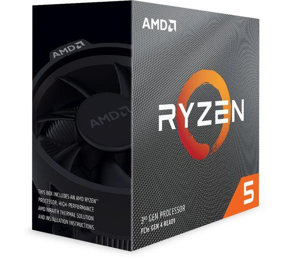 Ryzen 5 3600 6 Core, 12 Thread Processor 3.6GHz Base (4.2GHz Max Boost) Pre-Owned - E-Gamer