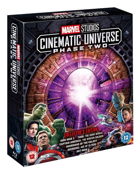 Marvel Studios Cinematic Universe Phase 2 Collector's Edition Blu Ray - E-Gamer