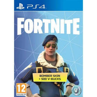 FORTNITE BATTLE ROYALE BOMBER OUTFIT SKIN + 500 V BUCKS - PS4 PlayStation 4 - CD Key - E-Gamer