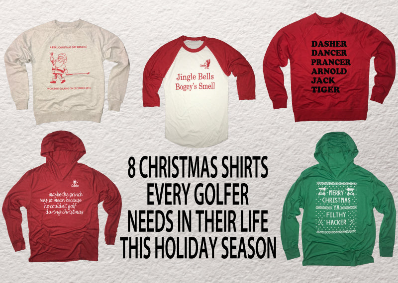 8 Christmas Shirts Every Golfer Needs This Holiday Season