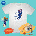 $35 Circles Golf Mascot Shirt Holiday Box