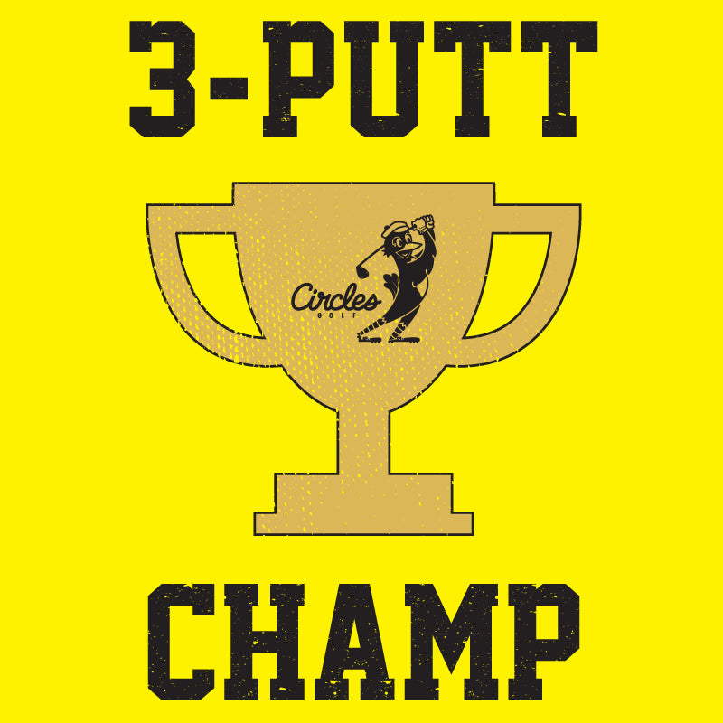 Sticker - 3-Putt Champ