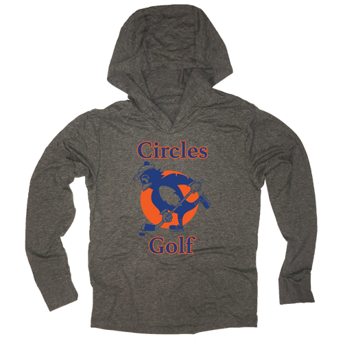 Circles Golf Hockey - Thin Long Sleeve Hoodie