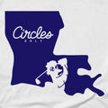 Louisiana Circles Golf Logo T-Shirt