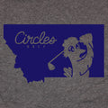 Montana Circles Golf Logo T-Shirt
