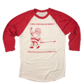 A Real Christmas Day Miracle Would Be Golfing December 25th Raglan Shirt