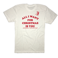 All I Want For Christmas Is You - Just Kidding Get Me Golf Stuff - T-Shirt
