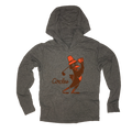 Thanksgiving Chirps Pilgrim - Thin Hooded Sweatshirt