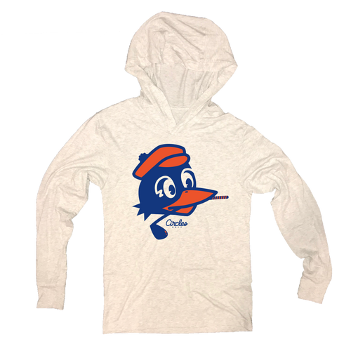 Chirps Golf Club In Mouth Logo - Thin Hooded Sweatshirt