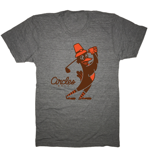 Thanksgiving Chirps Pilgrim T-Shirt
