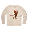 Thanksgiving Chirps Pilgrim - Long Sleeve T-Shirt