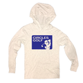 Circles Golf Silhouette Logo - Thin Hooded Sweatshirt