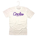 Circles Golf Text Logo With Chirps T-Shirt