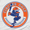 Circles Golf Baseball - Long Sleeve T-Shirt
