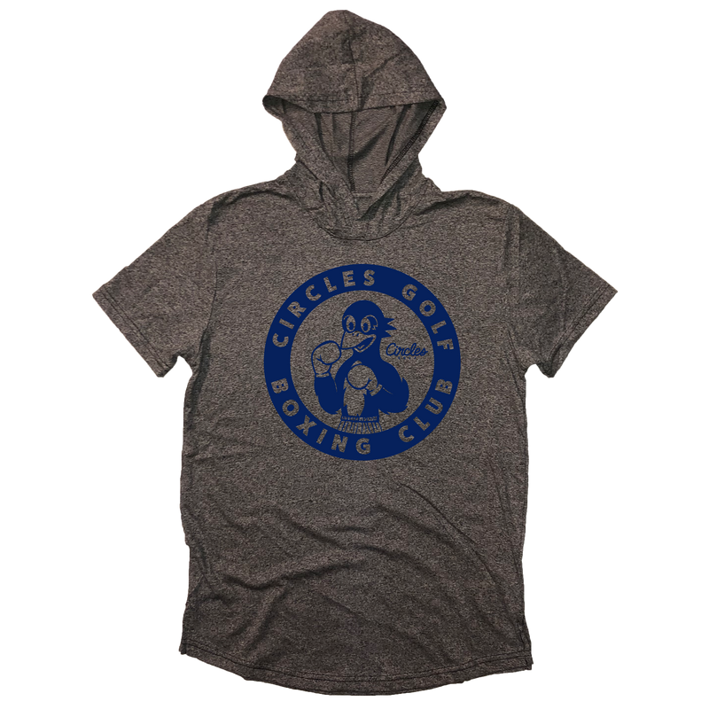 Circles Golf Boxing Club - Short Sleeve Hoodie Shirt