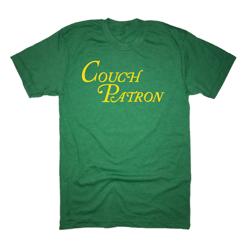 Couch Patron Golf T-Shirt